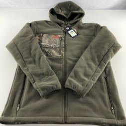 Under Armour Caliber Sherpa Hoody Black Rodeo Orange X Cold