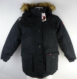 Canada Weather Gear Men's Full-Zip Heavy Weight Winter Jacke
