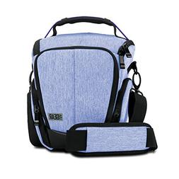 USA GEAR Camera Case for Digital SLR  w/Soft Cushioned Inter