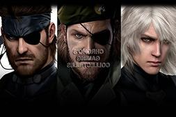 CGC Huge Poster - Metal Gear Solid HD Collection PS3 PS4 XBO
