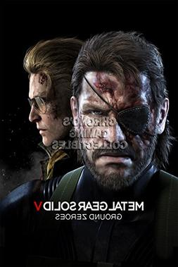 CGC Huge Poster - Metal Gear Solid Ground Zeroes PS3 PS4 XBO