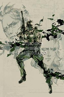 CGC Huge Poster - Metal Gear Solid 3 PS2 PS3 - MGS303 )