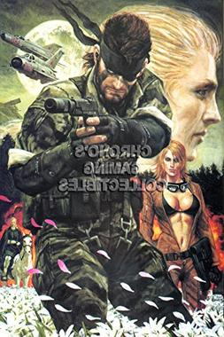CGC Huge Poster - Metal Gear Solid 3 PS2 PS3 - MGS307 )