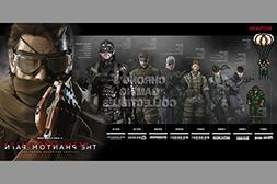 Metal Gear Solid CGC Huge Poster Glossy Finish 5 - Solid Sna