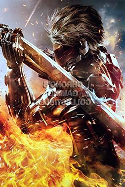 CGC Huge Poster - Metal Gear Rising Revengeance Raiden PS3 X