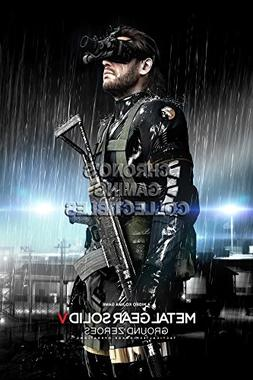 CGC Huge Poster -Metal Gear Solid Ground Zeroes Big Boss PS3