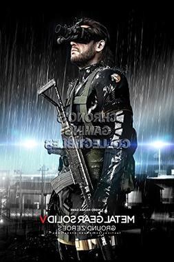 CGC Huge Poster -Metal Gear Solid Ground Zeroes Big Boss PS3