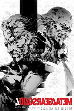 Metal Gear Solid CGC Huge Poster Glossy Finish 4 PS4 - MGS40