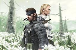 CGC Huge Poster - Metal Gear Solid 3 PS2 PS3 - MGS305 )