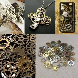 Charms Making Craft Arts Jewelry Cogs & Gears Watch Parts St