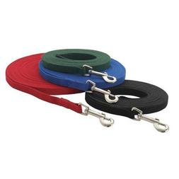 Cotton Webbing Dog Training Leash  Size: 6', Color: Red