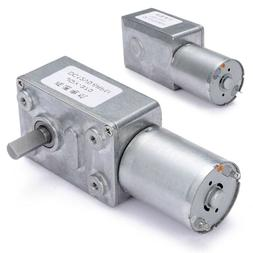 DC 12V 0.6RPM High torque Turbo Worm Electric Geared Motor G