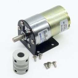 DC 12V 100RPM Gear Box Motor 1/34.5 High Torque Reversible M