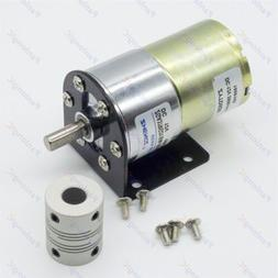 dc 12v 100rpm gear box motor 1