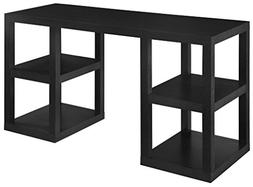 Deluxe Parsons Desk Finish: Black Oak