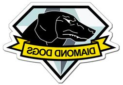 Metal Gear Solid Diamond Dogs Vinyl Decal Sticker 4""