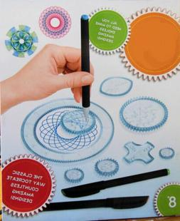 Drawing Gear Art Design Set Educational Interlocking Wheels