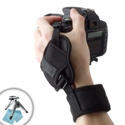 USA Gear DualGRIP Professional Digital & Film Camera Wrist G