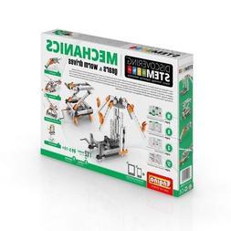 Engino Robotics STEM Mechanics: Gears & Worm Drives Set