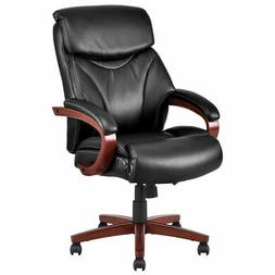 Ergonomic Office Chair Deluxe PU&PVC Leather High Back Desk