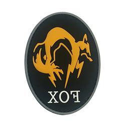 Metal Gear Solid Fox Unit Emblem Patch