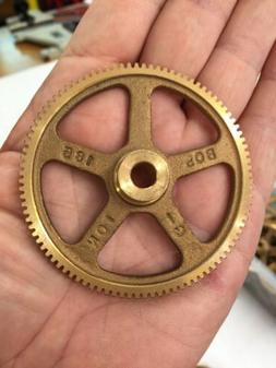BOSTON GEAR G-185 BRONZE SPUR GEAR FOR CLOCKS ETC. 32 PITCH