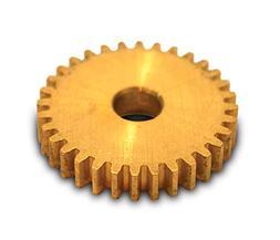 Boston Gear G171 Spur Gear, 14.5 Pressure Angle, Brass, Inch