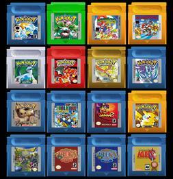 Game Boy Color Games Pokemon Super Mario Land  Zelda Donkey