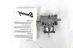 """Browning Gear Reducer 3/8"""" 2:1 Ratio Right Angle Bevel LR Ou"""