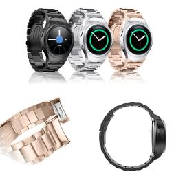 For Gear S2 Watch Band Samsung Gear S2 SM-R720/R730 Stainles