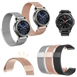 Samsung Gear S3 Classic / S3 Frontier Stainless Steel Bands