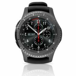 Samsung Gear S3 frontier 46mm Bluetooth Smartwatch - Dark Gr