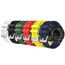 MoKo Gear S3 Frontier/Classic Watch Band,  Soft Silicone Rep