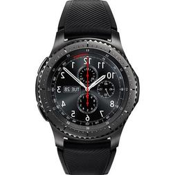 gear s3 frontier dark grey bluetooth smartwatch