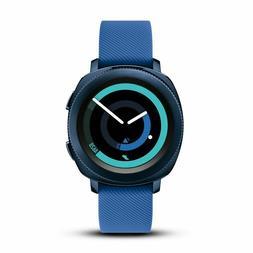 Samsung Gear Sport Blue Smart Watch R600NZBAXAR Bluetooth Ac