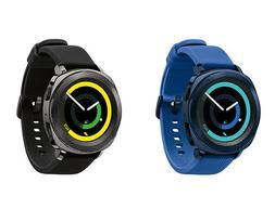 Samsung Gear Sport Smartwatch - Black   Blue SM-R600