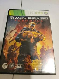 Gears of War: Judgment Microsoft Xbox 360  *Factory Sealed!