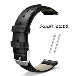 Genuine Leather Wrist Band Strap For Samsung Galaxy Watch 3