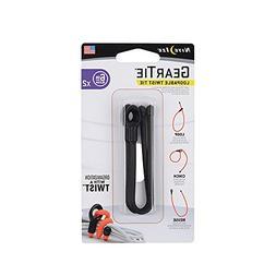 Nite Ize GLS6-01-2R7 Gear Twist Tie, 6-Inch , Black