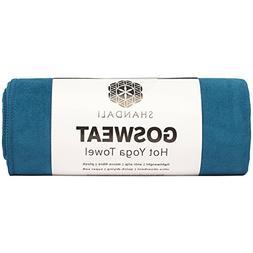 Shandali Gosweat Hot Yoga Towel, Color Evening Blue, Size 26