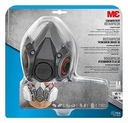 Half Facepiece Paint Spray/Pesticide Respirator, Medium, Sol
