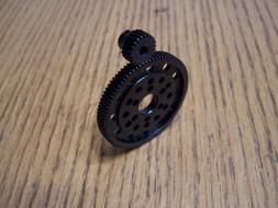 hardened steel 87t spur 22t pinion gear