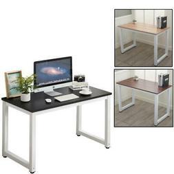 Home Office Computer Desk PC Laptop Table Metal Leg Workstat