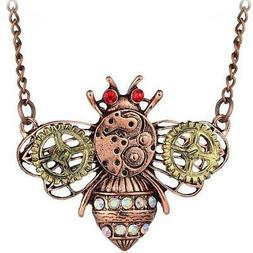 Hot Betsey Johnson Creative heart-shaped mechanical gear ins