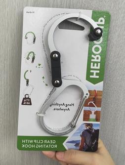 HEROCLIP Hybrid Gear Clip Medium-Silver Color Gear Clip With