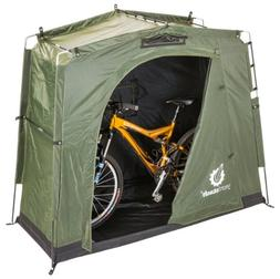 The YardStash III: Space Saving Outdoor Bike Storage, Garden