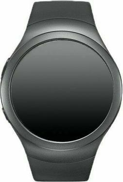 Inbox New Dark Gray Samsung Galaxy Gear S2 42mm R730a Steel