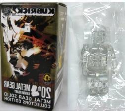 Kubrick Metal Gear Solid Clear Secret Snake Figure by Medico