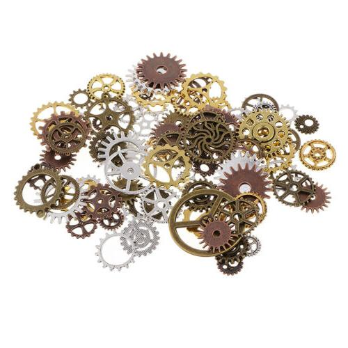 100g Assorted Gear Jewelry Making
