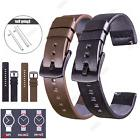 18 20 22mm Smart Watch Quick Release Leather Wristwatch Band